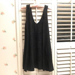 Nasty Gal Faux Suede Party Dress